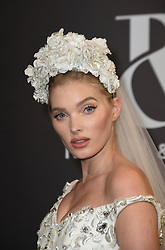 Celebrities front-row at Ralph and Russo's fashion show during Haute -Couture Spring/ Summer 2019 at le Carreau du Temple in Paris. 21 Jan 2019 Pictured: Elsa Hosk at Ralph and Russo's fashion show during Haute -Couture Spring/ Summer 2019 at le Carreau du Temple in Paris. Photo credit: Eliotpress/MEGA TheMegaAgency.com +1 888 505 6342
