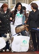 23.JUNE.2012. LONDON<br /> <br /> CHERIE BLAIR, CILLA BLACK, NANCY DELL'OLIO AND FLOELLA BENJAMIN TAKE PART IN A MEDIEVAL CHARTER GIVING FREEMEN THE RIGHT TO HERD LIVESTOCK ACROSS LONDON BRIDGE.<br /> <br /> BYLINE: EDBIMAGEARCHIVE.CO.UK<br /> <br /> *THIS IMAGE IS STRICTLY FOR UK NEWSPAPERS AND MAGAZINES ONLY*<br /> *FOR WORLD WIDE SALES AND WEB USE PLEASE CONTACT EDBIMAGEARCHIVE - 0208 954 5968*
