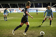 Everton defender Emma Brownlie (24) during the FA Women's Super League match between Manchester City Women and Everton Women at the Sport City Academy Stadium, Manchester, United Kingdom on 20 February 2019.
