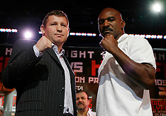 August 30, 2007: Sultan Ibragimov vs Evander Holyfield Press Conference