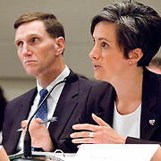 "Jacqueline Maguire, Special Agent, FBI. Panel: ""Outline of the 9/11 Plot."" The 9/11 Commission's 12th public hearing on ""The 9/11 Plot"" and ""National Crisis Management"" was held June 16-17, 2004, in Washington, DC."