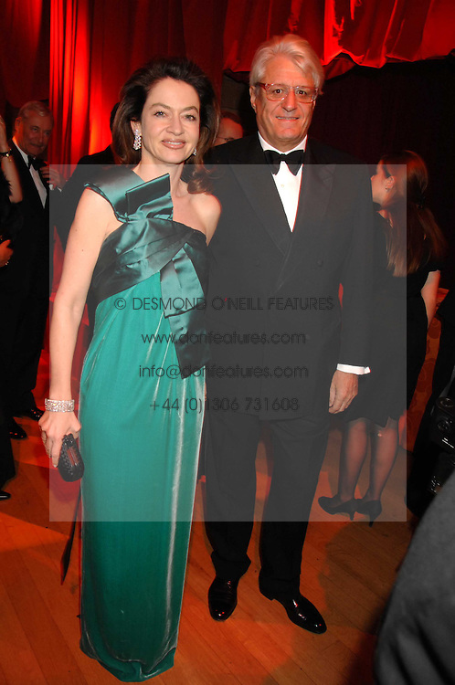 DR & MRS GERT-RUDOLPH FLICK at a dinner held at the Natural History Museum to celebrate the re-opening of their store at 175-177 New Bond Street, London on 17th October 2007.<br /><br />NON EXCLUSIVE - WORLD RIGHTS