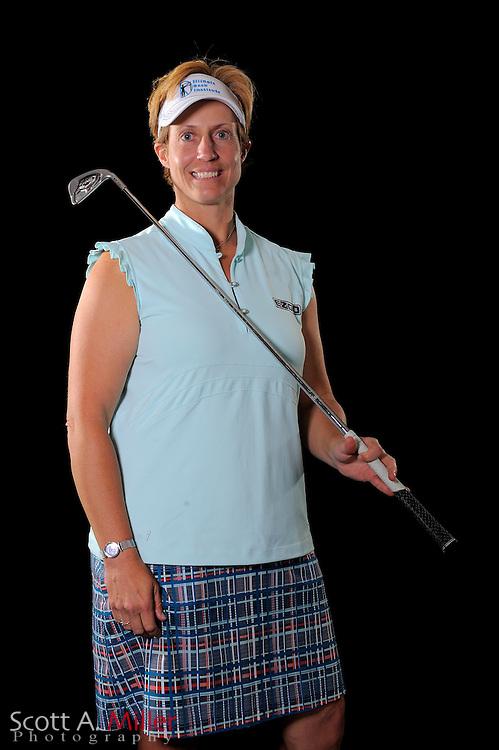Nicole Jeray during a portrait shoot prior to the LPGA Futures Tour's Daytona Beach Invitational at LPGA International's Championship Courser on March 29, 2011 in Daytona Beach, Florida... ©2011 Scott A. Miller