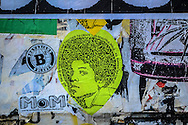Michael Jackson sitcker, Soho