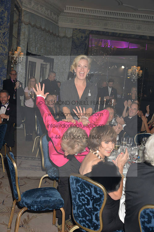 SIR ROD STEWART & LADY STEWART at the annual PINKTOBER Gala presented by Hard Rock Heals at The Dorchester, Park Lane, London on 14th October 2016.  The annual event raises money for The Caron Keating Foundation.
