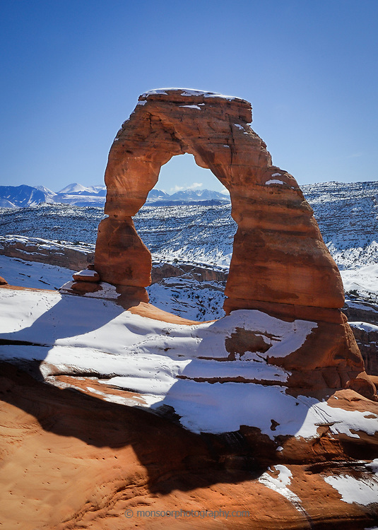 Delicate Arch,Arches National Park.