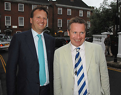 Left to right, MARK BOLLAND and GUY BLACK at the annual Sir David & Lady Carina Frost Summer Party in Carlyle Square, London SW3 on 5th July 2007.<br /><br />NON EXCLUSIVE - WORLD RIGHTS