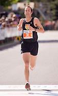 Ottawa, Ontario ---25/05/08--- Nathan Kendrick runs during the ING Ottawa Marathon, May 26, 2008..GEOFF ROBINS /