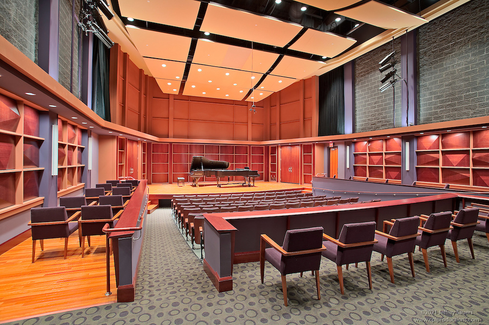 Howard County Community College Performing Arts building theater in Columbia MD