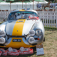 1962, Porsche 356B Coupe at the Salon Privé, 31 August - 1 September 2018