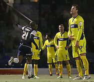 Picture by David Horn/Focus Images Ltd +44 7545 970036.11/12/2012.Gavin Tomlin of Southend United celebrates scoring during the The FA Cup match at Roots Hall, Southend.