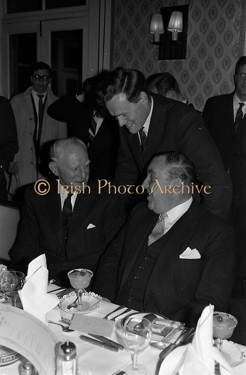 23/03/1963<br /> 03/23/1963<br /> 23 March 1963<br /> Gaelic Sports Journalists Association Presentation off Awards at the Anchor Hotel, Dublin.
