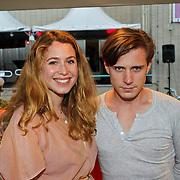 NLD/Utrecht/20100926 - NFF 2010 - Premiere Lang & Gelukkig, Sanne Vogel en partner Wouter Zweers