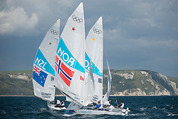 2012 Olympic Games London / Weymouth<br /> <br /> Star practice race<br /> StarNORMelleby Eivind, PEDERSEN Petter Morland<br /> StarNZLPepper Hamish, Turner Jim