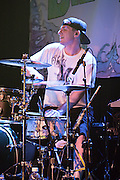 Matt Ochoa Drummer for the Dirty Heads Performs at the Aggie Theater, Fort Collins, July 12 2009.