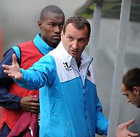 Fotball<br /> Tyskland<br /> Foto: Witters/Digitalsport<br /> NORWAY ONLY<br /> <br /> 10.07.2009<br /> <br /> Trainer Csaba Laszlo Midlothian<br /> <br /> Testspiel FC St. Pauli - Hearts