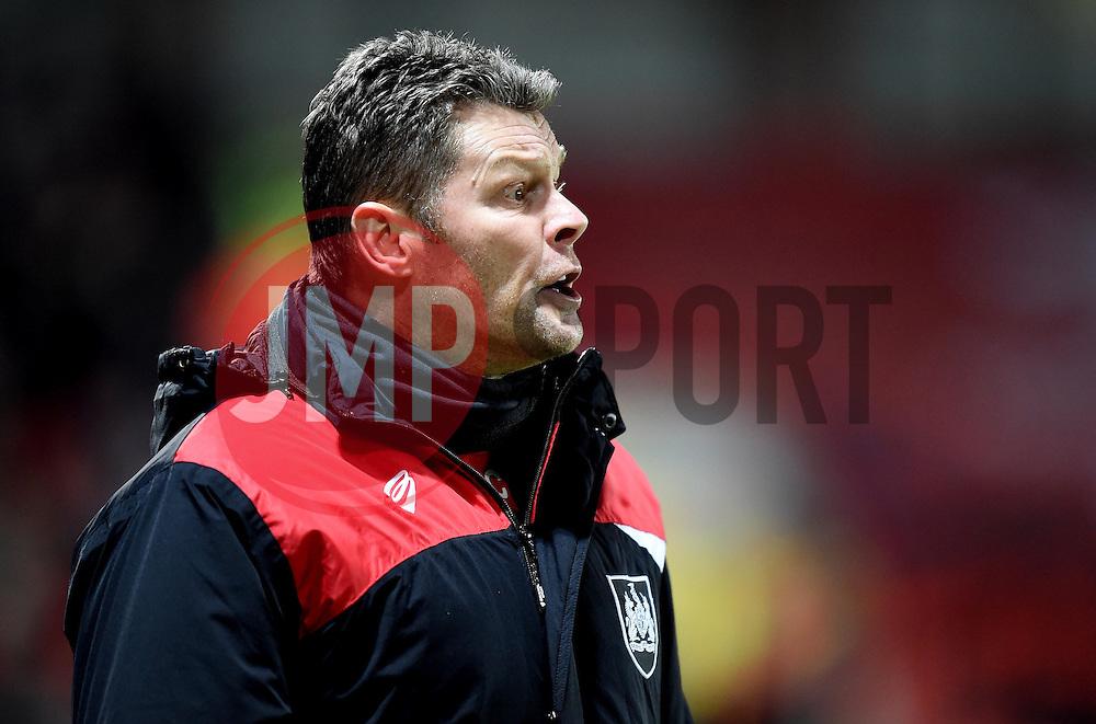 Bristol City manager Steve Cotterill - Mandatory by-line: Paul Knight/JMP - Mobile: 07966 386802 - 12/01/2016 -  FOOTBALL - Ashton Gate Stadium - Bristol, England -  Bristol City v Preston North End - Sky Bet Championship