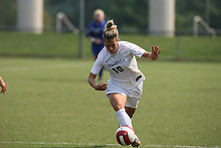 Virginia Cavaliers F Kelly Quinn (10)..The Virginia Cavaliers Women's Soccer Team fell to Seton Hall University 1-0 on September 10, 2006 at Klöckner Stadium in Charlottesville, VA...