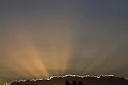 Rio Acima _ MG, Brasil...Detalhe do por do sol em Rio Acima, Minas Gerais...Detail of a sunset in Rio Acima, Minas Gerais...FOTO: LEO DRUMOND / NITRO