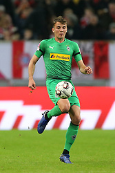 13.01.2019, Merkur Spiel Arena, Duesseldorf, GER, Telekom Cup, Hertha BSC vs Borussia Moenchengladbach, im Bild Michael Cuisance (Moenchengladbach) mit Ball // during the Telekom Cup Match between Hertha BSC and Borussia Moenchengladbach at the Merkur Spiel Arena in Duesseldorf, Germany on 2019/01/13. EXPA Pictures © 2019, PhotoCredit: EXPA/ Eibner-Pressefoto/ Mario Hommes<br /> <br /> *****ATTENTION - OUT of GER*****