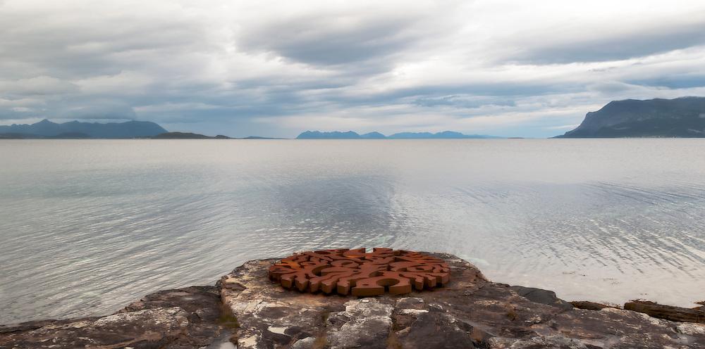 """Syv magiske punkter"" by Martti Aihas, Skånland, Norway"