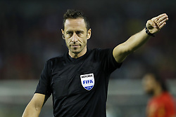 referee Artur Soares Dias during the International friendly match between Belgium and The Netherlands at the King Baudouin Stadium on October 16, 2018  in Brussels, Belgium