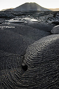 Lava on Sullivan Bay<br /> a recent (1897) pahoehoe lava flow<br /> Sullivan Bay <br /> Santiago <br /> Galapagos<br /> Ecuador, South America