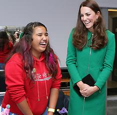 Hamilton-Royal Visit, Princess Catherine at Rainbow Hospice