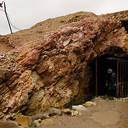 The main entrance to the San José mine in Oruro, Bolivia.