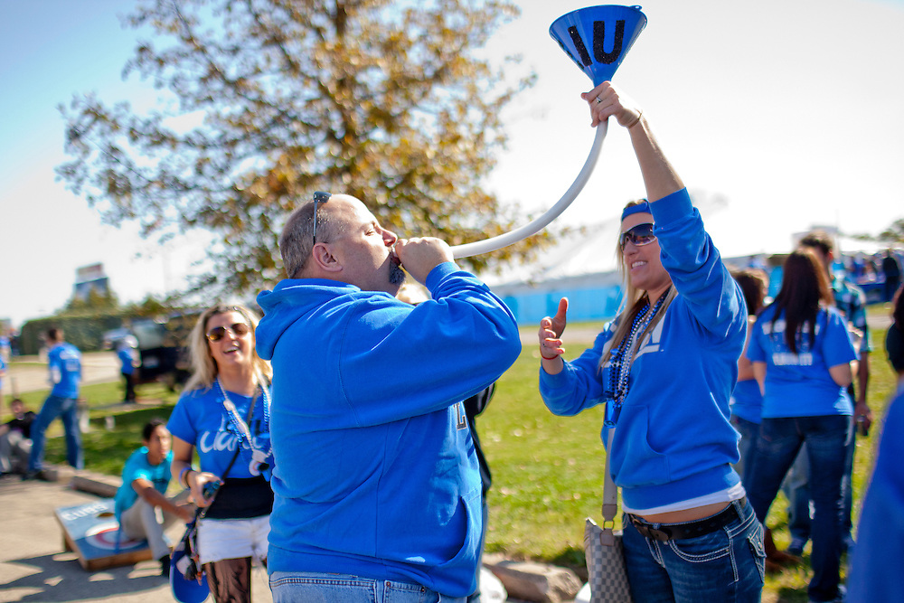 Photos from tailgating outside of O'Brien Stadium during Eastern Illinois University Homecoming Saturday, Oct. 22, 2011, on the EIU campus in Charleston, Ill. (STEPHEN HAAS)