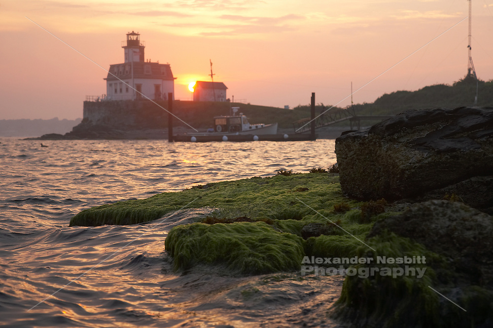 Newport, RI 2006 - Rose Island Light house
