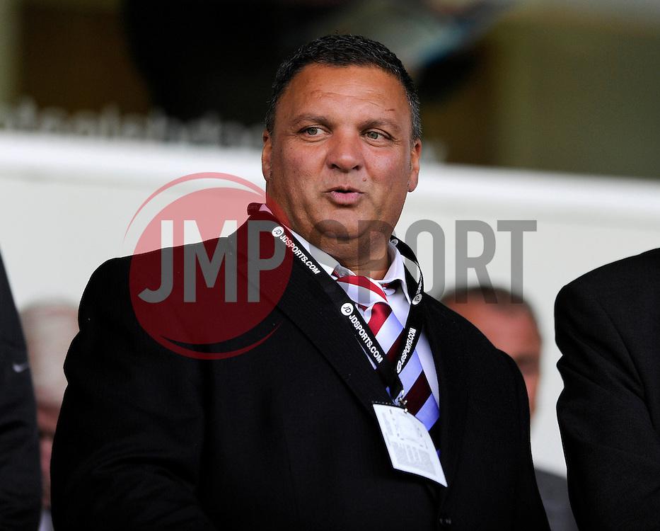 Bristol City shareholder, Ernie Arathoon - Photo mandatory by-line: Dougie Allward/JMP - Mobile: 07966 386802 23/08/2014 - SPORT - FOOTBALL - Manchester - Spotland Stadium - Rochdale AFC v Bristol City - Sky Bet League One