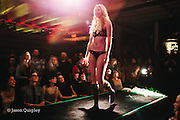 Unmentionable: A Lingerie Exposition at the Doug Fir Lounge in Portland, OR, Feb 9, 2016. Photo by Jason Quigley, www.photojq.com