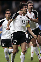 FOOTBALL - CONFEDERATIONS CUP 2005 - GROUP A - GERMANY v AUSTRALIA - 15/06/2005 - JOY MICHAEL BALLACK (/ BERND SCHNEIDER GER) AFTER THE BALLACK'S GOAL  - <br />