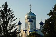 The Ukrainian Orthodox church in Uzhgorod