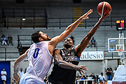 Wesley Saunders<br /> Germani Basket Brescia - Vanoli Cremona<br /> Basket Precampionato Serie A LBA 2019/2020<br /> Desio 15 September 2019<br /> Foto Mattia Ozbot / Ciamillo-Castoria