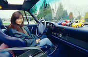 A rich Hong Kong student at Vancouver University in her Porsche Turbo.