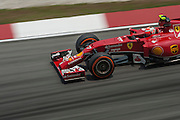 March 28, 2014 - Sepang, Malaysia. Malaysian Formula One Grand Prix. Kimi Raikkonen (FIN), Ferrari<br /> <br /> © Jamey Price / James Moy Photography