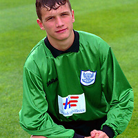 St Johnstone FC 1998/99 squad member Kevin Cuthbert.<br />14.7.98.<br /><br />Picture Copyright:  John Lindsay / Perthshire Picture Agency.<br />30 James Street, Perth. PH2 8LZ.<br />Tel. office 01738 623350. mobile 0370 822321.<br />message pager 04325 265547.