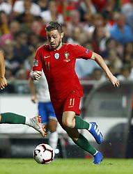 September 10, 2018 - Lisbon, Portugal - Portugal v Italy - UEFA Nations League.Bernardo Silva of Portugal at Estadio da Luz in Lisbon, Portugal on September 10, 2018. (Credit Image: © Matteo Ciambelli/NurPhoto/ZUMA Press)