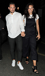 Adam Walsh and Twinnie-Lee Moore leaving the Cadogan Hall after watching the hit musical 'Sweet Charity'. London, UK. 22/08/2015<br />BYLINE MUST READ : GOTCHAIMAGES.COM<br /><br />Copyright by © Gotcha Images Ltd. All rights reserved.<br />Usage of this image is conditional upon the acceptance <br />of Gotcha Images Ltd, terms and conditions available at<br />www.gotchaimages.com