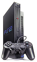 playstation 2 system and controller