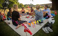 Copenhagen, Denmark- JULY 24, 2014: A going away party in Kings Garden.  CREDIT: Chris Carmichael for The New York Times