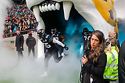 Jacksonville Jaguars introduces Defensive Lineman Lerentee McCray (55) during the International Series match between Jacksonville Jaguars and Houston Texans at Wembley Stadium, London, England on 3 November 2019.