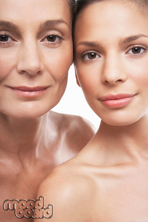 Two Beautiful Women different ages