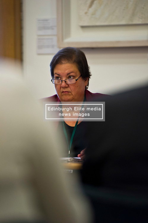 Pictured: Jackie Baillie MSP <br /> <br /> Labour Economy spokeswoman Jackie Baillie MSP today  unveiled an independente study by economists Jim and Margaret Cuthbert into how the Scottish Futures Trust operates. <br /> <br /> Ger Harley   EEm 18 October 2017