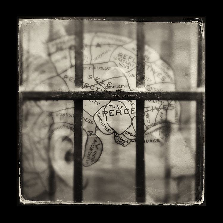 "Charles Blackburn image of a store window in Vancouver, BC. 5x5"" print."