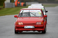 #15 David Belshaw Ford Fiesta XR2 during Lee Bowron Ltd XR Challenge - Qualifiying  as part of the Easter Family Fun Day - Oulton Park Fosters at Oulton Park, Little Budworth, Cheshire, United Kingdom. March 28 2016. World Copyright Peter Taylor/PSP. Copy of publication required for printed pictures.  Every used picture is fee-liable. http://archive.petertaylor-photographic.co.uk