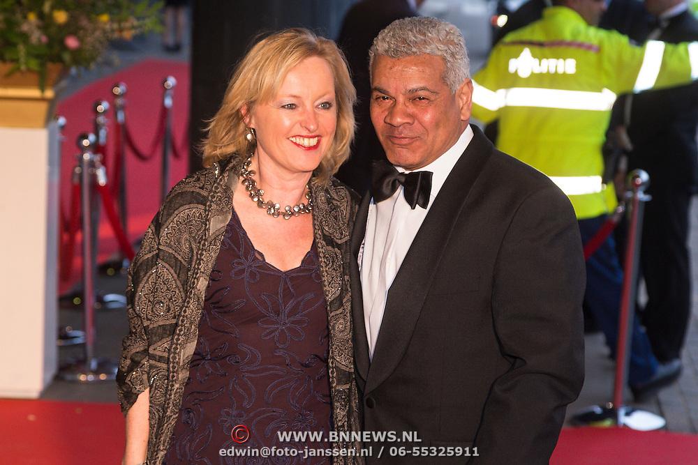 NLD/Amsterdam/20130410 - Viering 125 jaar bestaan Concertgebouw Amsterdam, Jet Bussemaker en partner Garth