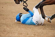 Colonial Cup - Camden, South Carolina. Paddy Young takes  fall.